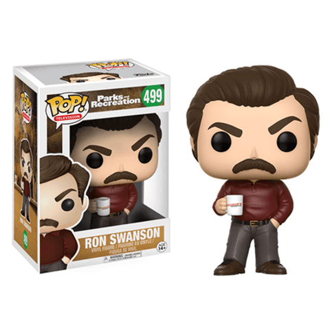 Parks And Recreation Ron Swanson Funko POP Figure