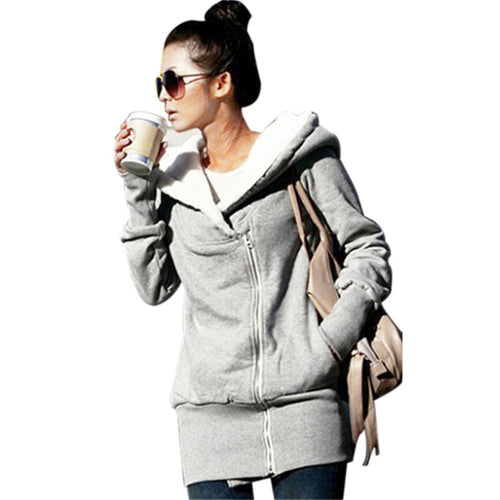 Women's Hoodies Overcoat