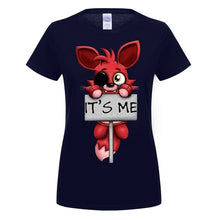 Load image into Gallery viewer, FIve Nights At Freddy Foxy T-Shirt