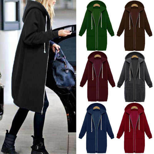 Women's Long Hoodies Plus Size