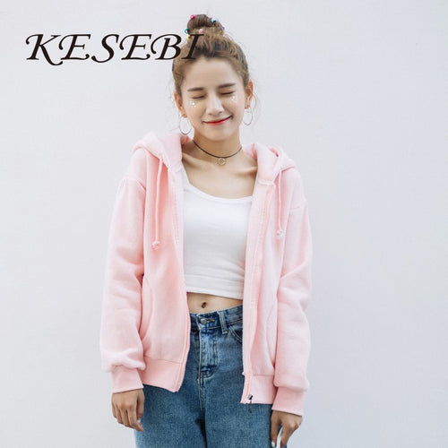 Women's Collarless Loose Hoodie