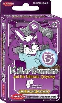 Killer Bunnies Ultimate Odyssey Elementals Expansion Deck C