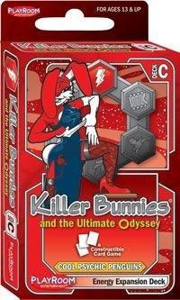 Killer Bunnies Ultimate Odyssey Energy Expansion Deck C