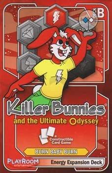 Killer Bunnies Ultimate Odyssey Energy Expansion Deck B