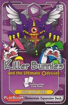 Killer Bunnies Ultimate Odyssey Elementals Expansion Deck B