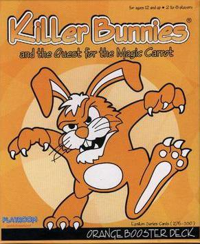 Killer Bunnies Orange Booster Deck