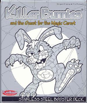 Killer Bunnies Stainless Steel Booster Deck