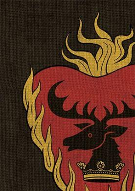 A Game of Thrones Sleeves: Stannis Baratheon