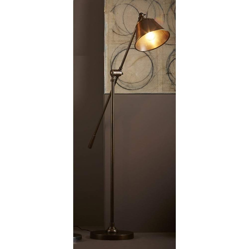 Winslow Floor Lamp Antique Brass