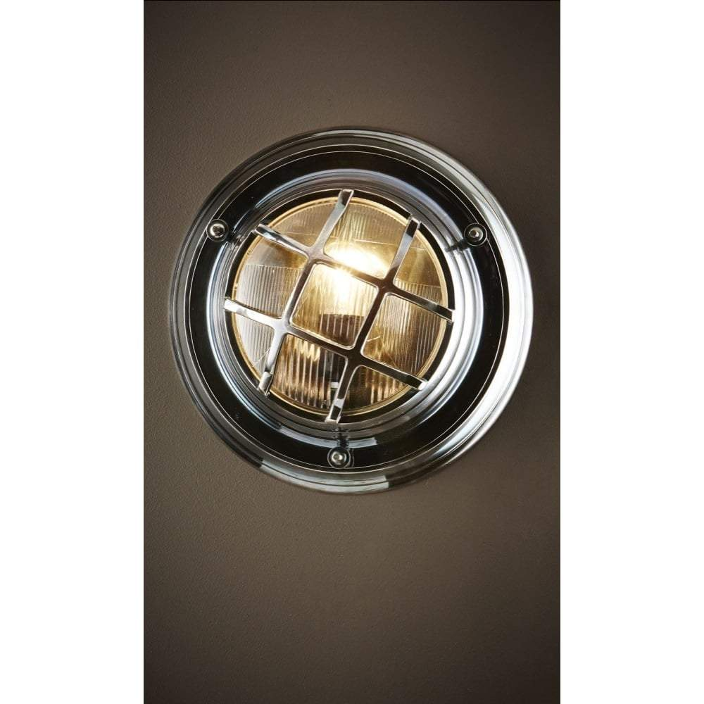Jervis Porthole Wall Light Antique Silver