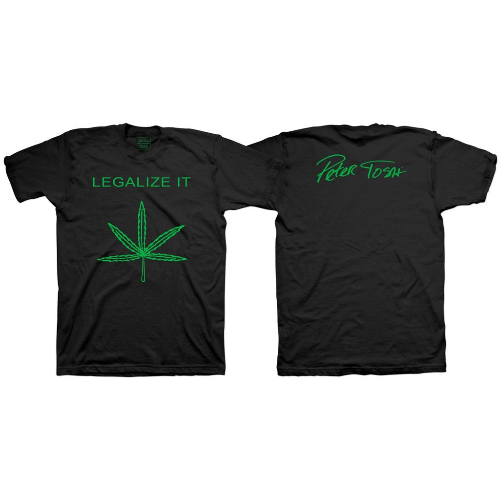 Peter Tosh Legalize It Black Tee