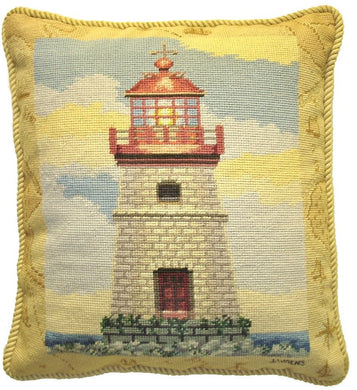 Needlepoint Mapped Lighthouse James Wien 18