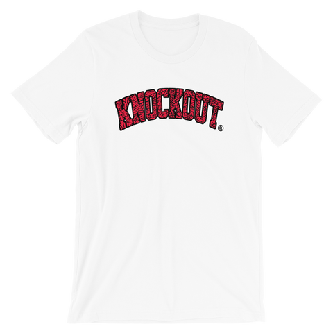 Knockout Bullies Red Elephant Tee