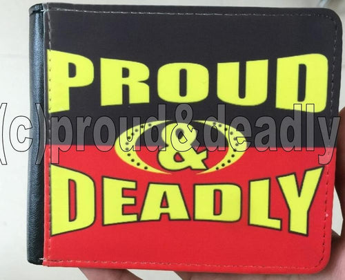 Proud and Deadly Mens Wallet
