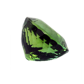 Brilliant Faceted Oval Green Tourmaline