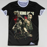 The Walking Dead 3D Oversize Print Rick and Daryl Ringer Tshirts - TshirtNow.net - 2