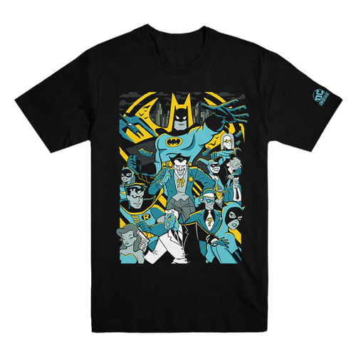 Batman: The Animated Series Collage T-shirt