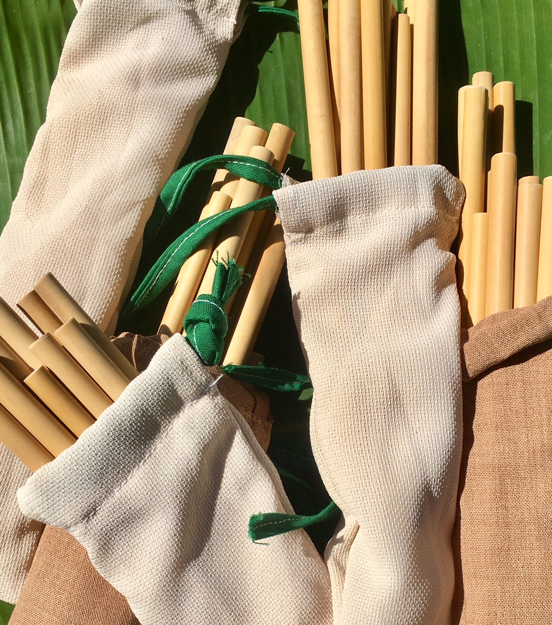 Organic All-Natural Bamboo Drinking Straws (Set of 100)