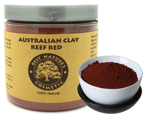 Pure Australian Clay - Reef Red