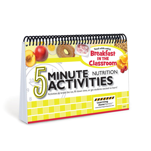 5 Minute Breakfast in the Classroom Nutrition Activities