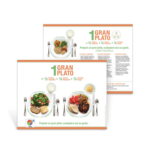 1 Great Plate® Make It Yours Spanish Handouts