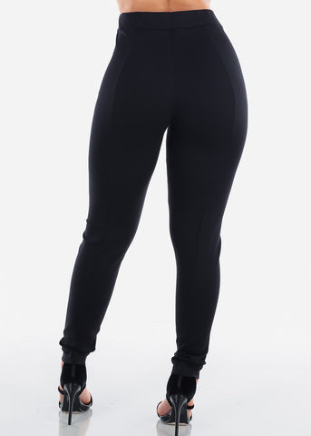 Image of High Rise Black Dressy Pants