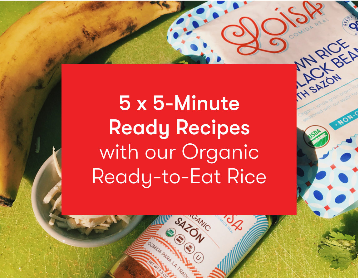 5 x 5 Minute Ready Recipes for the Whole Week