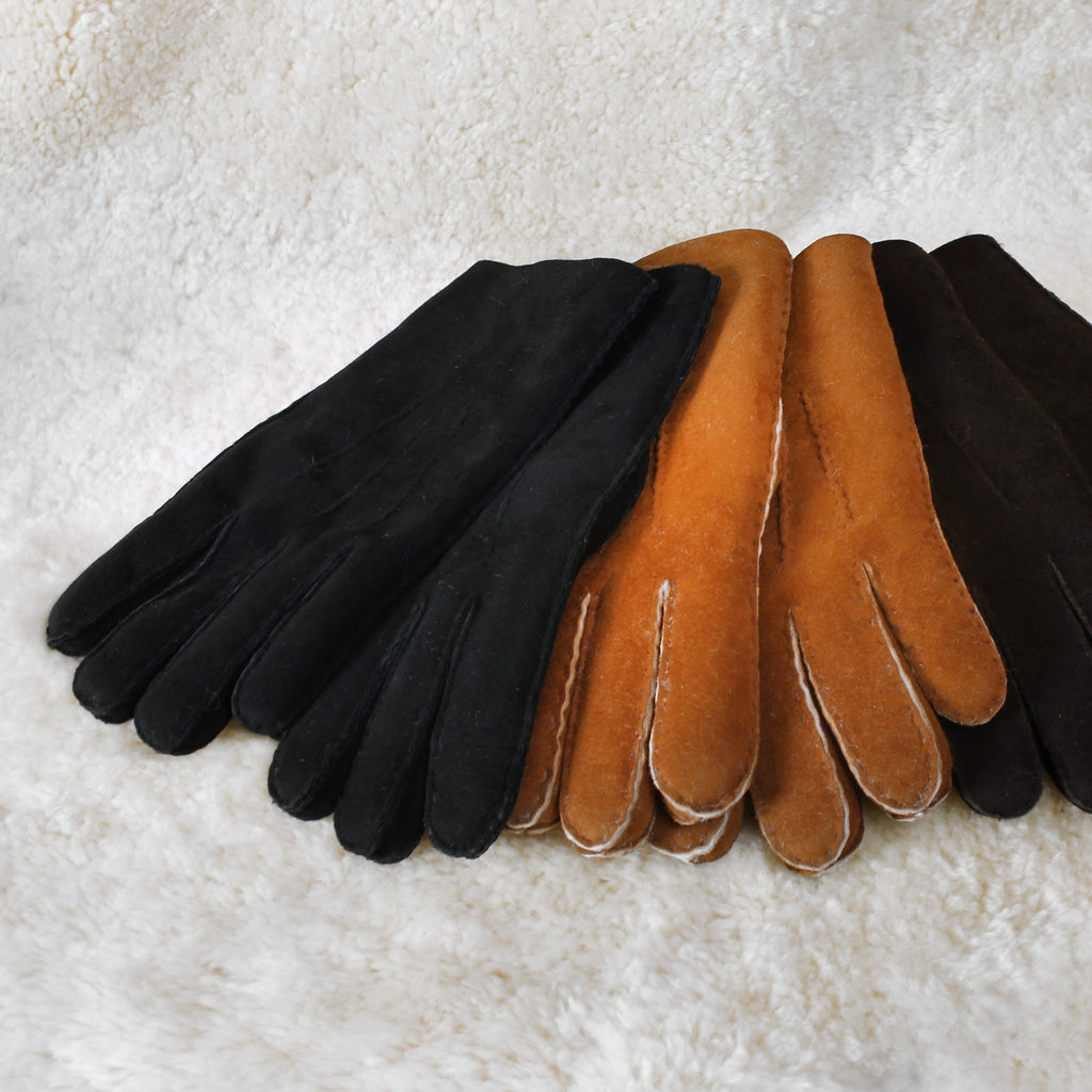 Men's Sheepskin Fur Gloves