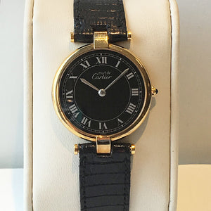 Vintage Ladies Must de Cartier Watch - Pre-Owned