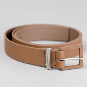 Leather Belt - Cappuccino
