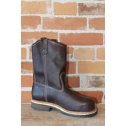 "Men's 11"" American Heritage Leather Boot In Black Walnut W/Composite Safety Toe-Atomic 79"