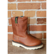 Youth Duke Wellington Pull On Boots in Tan-Atomic 79