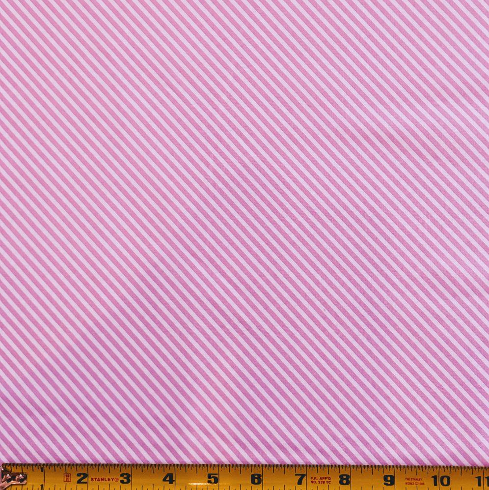 Sweet Shoppe by Andover : Candy Stripe in Unicorn Pink