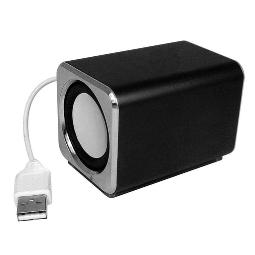 Ricco MD3 MINI DSP 2.0 CHANNEL Ultra Light Aluminium USB Portable Travel Speaker - GADGET EXPRESS®