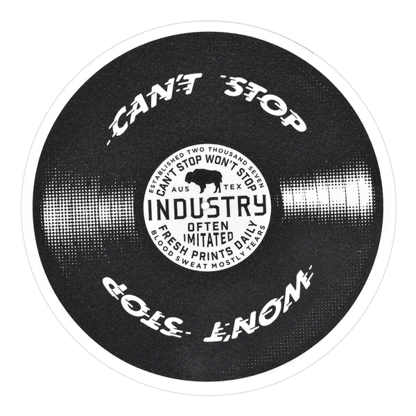 "12"" Industry Felt Turntable Slipmat"