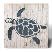 Minimalist Shabby Chic Sea Turtle