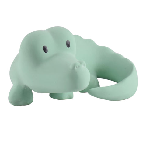 "Tikiri ""My Zoo Animals"" - CROCODILE Natural Rubber Toy"