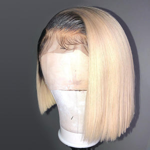 Blonde-Bob-Ombre-Lace-Front-Human-Hair-Wigs-For-Black-Women