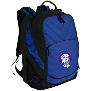 GrindHardMusic Port Authority Laptop Computer Backpack