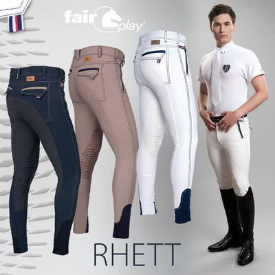 FairPlay Rhett Silicone Knee Mens Breeches