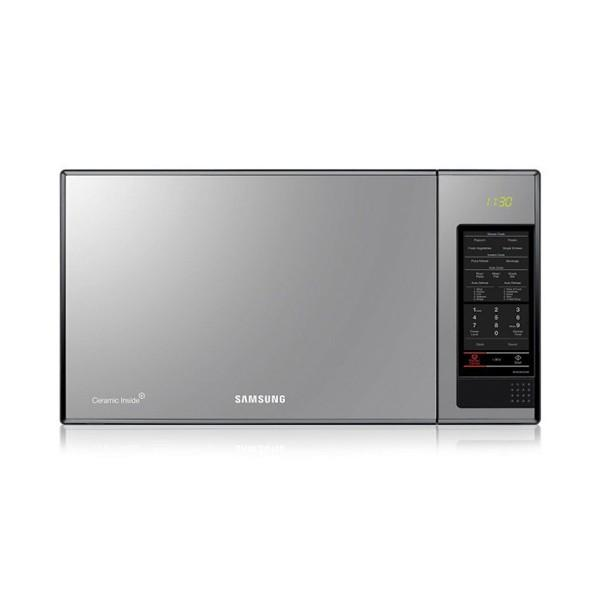 Samsung MS405MAD Microwave Oven with Black Glass mirror, 40 L-Shop Twenty Four Seven Uganda