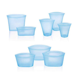 ZipTop™️ Containers - Stand Up - Reusable Zip Silicone Food Containers