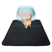 Load image into Gallery viewer, WaterProof Kitty Litter Mat - Litter box proof