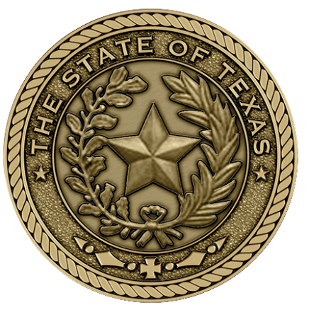 Texas State Medallion