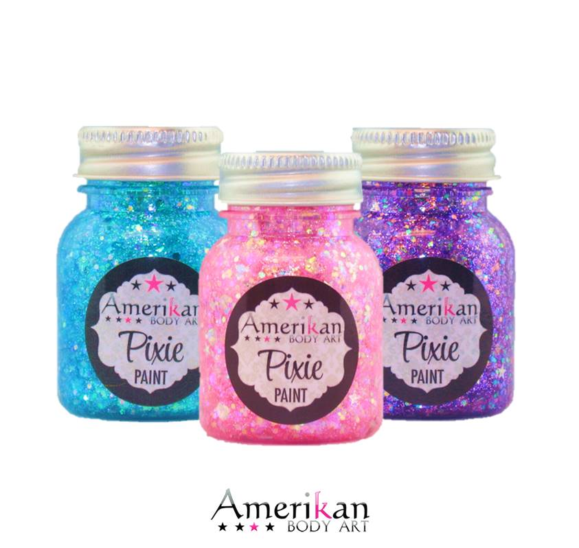 Pixie Paint - Chunky Glitter Gel by Amerikan Body Art