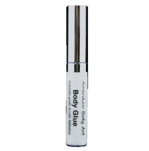 Amerikan Body Art - Glitter Tattoo Body Glue - 10ml Lip Gloss Tube #1 - Jest Paint Store