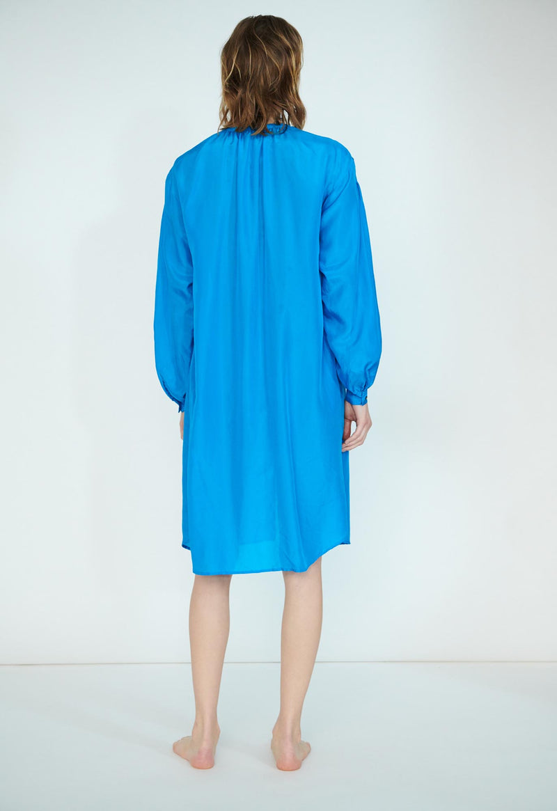 Corona Shirtdress in Silk