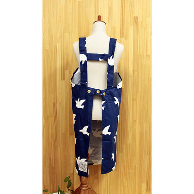 Short Apron Sky Bird  Length 84cm