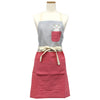 photo of the FRIENDS HILL Apron Peapod Switch Taachan Short Pink Length 72 Cm