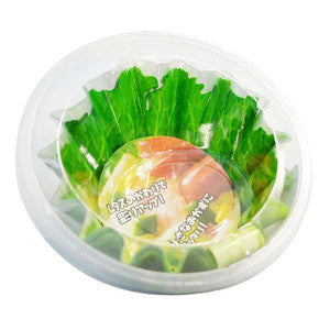 Lettuce Case Bento Food Side-Dish Container Small Round-Shape